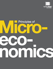 Principles of microeconomics textbook image